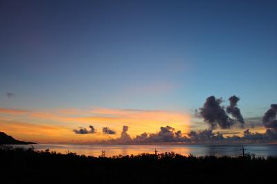 夏の石垣島2013・・・幻想的な日の出