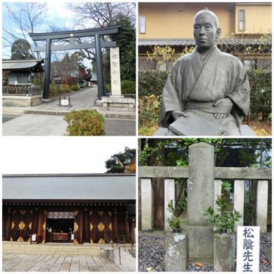 東急世田谷線に乗って ~ 松陰神社を訪ねる