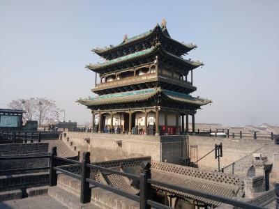 平遙古城2(宿と城壁)