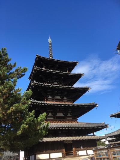 御朱印旅は初冬の高野山と法隆寺。泊まりは大阪で。