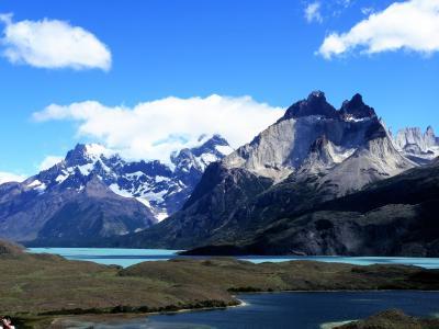 チリ旅行-17:パイネ(カラファテ行きバス)