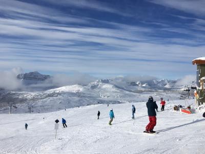 今年の北米は寒波襲来 カナディアンロッキーでスキー