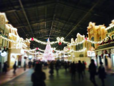 北海道発 ディズニークリスマス3泊4日 1日目