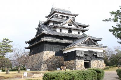 祝国宝、40年ぶりの松江城登城