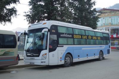 20161211 サパからハノイへ。昼間の寝台バス移動