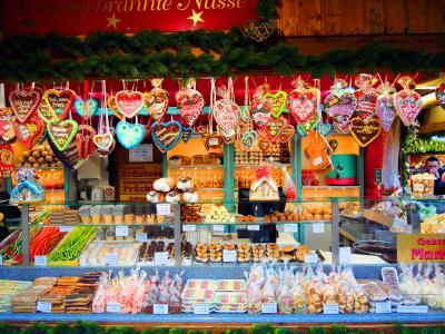 アマデウスシルバー2で行く!ドナウ川クリスマスマーケットクルーズ(3)シェーンブルン宮殿と市庁舎のクリスマスマーケットを巡る