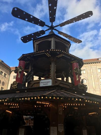 マイル特典旅行 クリスマスマーケットを巡るドイツ オランダ ベルギー ルクセンブルク その2 ミュンヘンへ