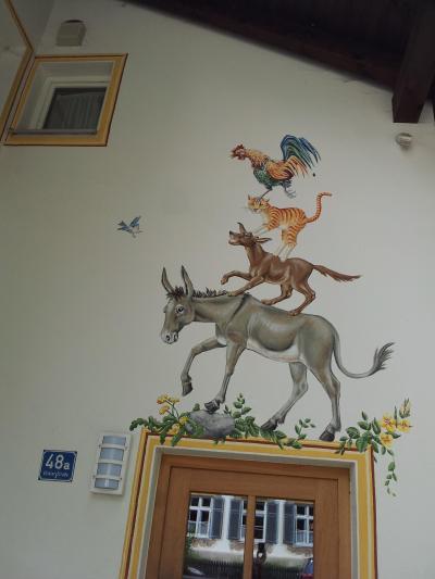 ジャーマンレイルパスで巡るドイツ10日間の旅⑱ 壁画の村 オーバーアマガウ