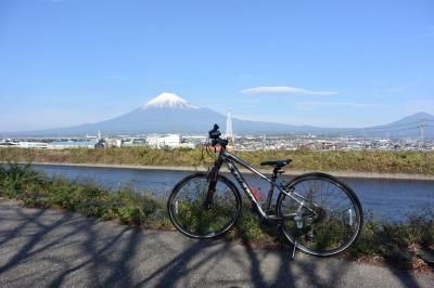 自転車でGO! 2016.12.04 富士山を見ながら市内をウロウロ…