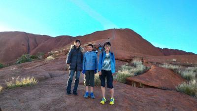 家族4人でオーストラリア大自然の旅 6日目