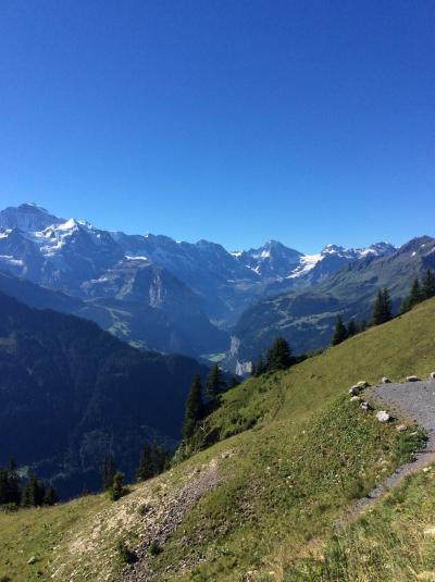 いつかある日ではおそい!スイスへGO! vol.10 天空の絶景!! シーニゲプラッテへ (^^r