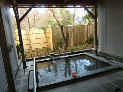 箱根仙石原に宿泊して、その3 温泉で登山の疲れを癒します。