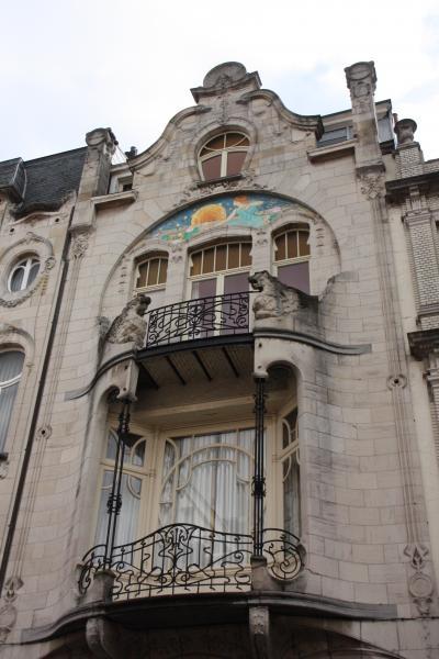 アール・ヌーヴォーを極める in Antwerp 【4】Transvaalstraat (トランスヴァール通り)