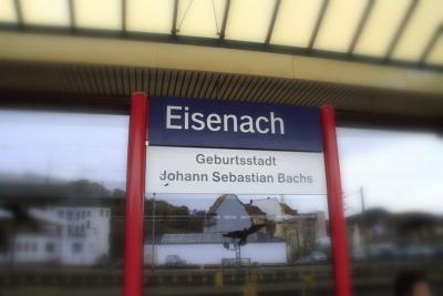 長い年月を超えて ドイツの旅 1 アイゼナハ