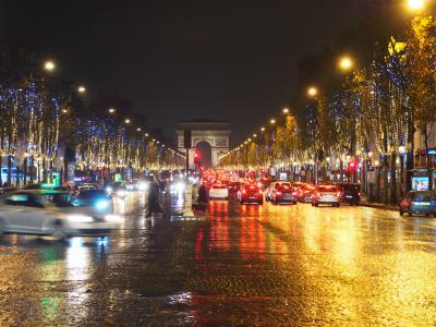 12月のパリで街歩き Xmasイルミネーション