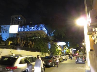 レストランディストリクト、Adliya 散歩(夜)