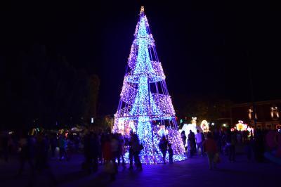 巡るMexico Aguascalientes Christmas de Centro