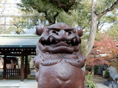御堂筋神社巡り~心斎橋、難波編