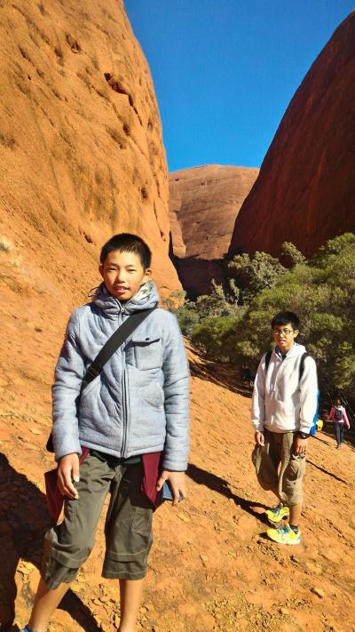 家族4人でオーストラリア大自然の旅 7日目