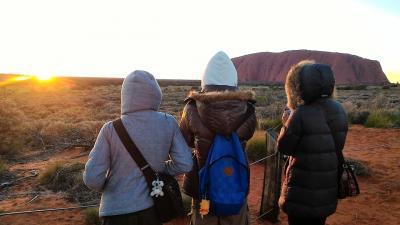 家族4人でオーストラリア大自然の旅 最終日