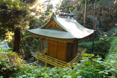 熊野神社から朝夷奈切通