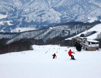 団塊夫婦のスキー&絶景の旅・2016年末ー快晴の野沢温泉へ