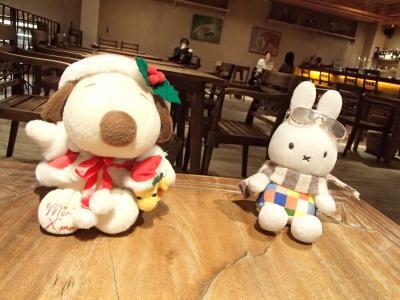 ムロろ~んさん、ようこそ奈良へ!◆ミッフィーちゃん&スヌーピー夢の競演!♪