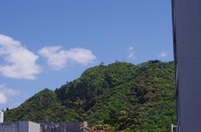 岐阜県:岐阜城、加納城、大垣城、苗木城、鷺山城