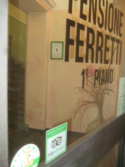 トランジットで利用したペンション・フェレッティとプチ観光