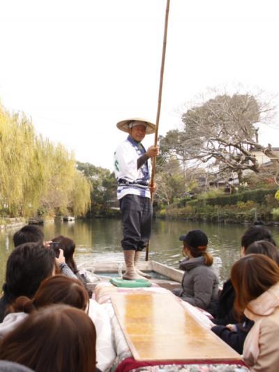 海中鳥居の大魚神社と柳川の冬の風物詩「こたつ舟」でほっこり川下りの旅 柳川こたつ舟編 2-2