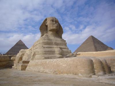 エジプト世界遺産紀行8日間の旅(1) ピラミッドとスフィンクス