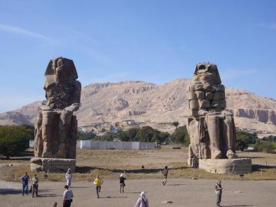 エジプト世界遺産紀行8日間の旅(3) ルクソールの大神殿と王家の谷