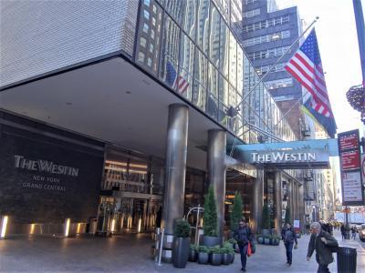 JALプレエコで行くNY ② 自動入国審査機「APCキオスク」の操作方法の説明、JFK国際空港からNYCエアポーターでマンハッタンに移動! グランドセントラル駅近くに位置するロケショーン抜群の4つ星ホテル『ウェスティン・ニューヨーク・グランドセントラル』宿泊記編