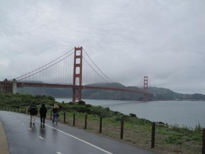 アメリカ西海岸③ゴールデンゲートブリッジ