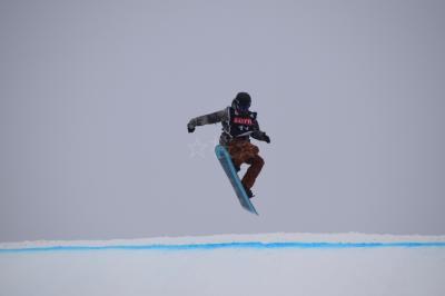 大雪の中でのスノボのワールドカップ決勝戦観戦とハヌル牧場見学