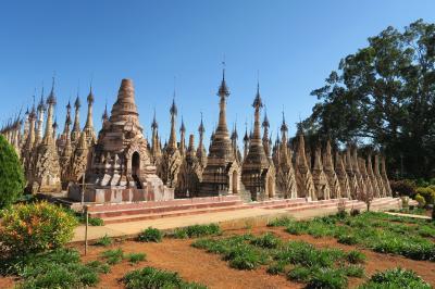 カックー遺跡 ミャンマー