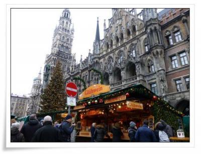 ドイツの煌めくクリスマスマーケット