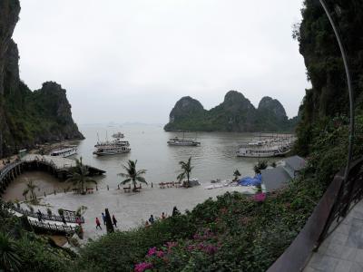 2016年 川と湖と緑に囲まれた冬のベトナムを巡る旅 【2日目ハロン湾 前編】