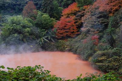 ロープウェイで鶴見岳と別府温泉地獄巡り(2泊3日大分・福岡旅行2日目)