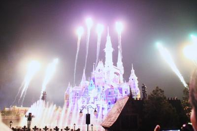 上海ディズニーランドでのクリスマス 福岡~上海