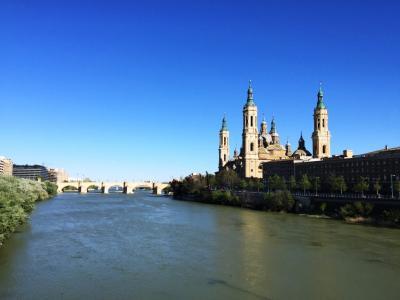 サラゴサ_Zaragoza  聖母に捧げられた聖堂!レコンキスタ後のアラゴン王国の首都