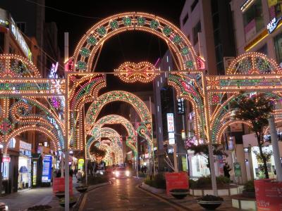 韓国 「行った所・見た所」 蔚山の太和江駅から街中散策