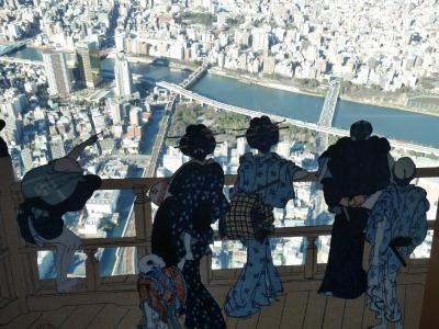 東京スカイツリーとすみだ水族館で過ごす冬休みの一日♪
