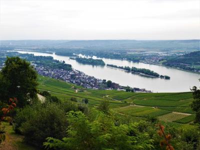 南ドイツとオーストリア周遊個人旅行1 フランクフルト、ライン川下りとケルン観光