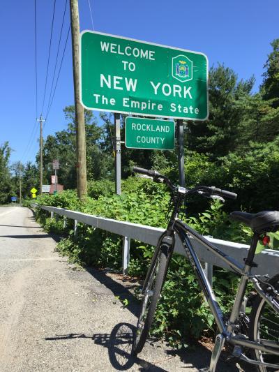 ニューヨークからベアマウンテンまで クロスバイクの旅