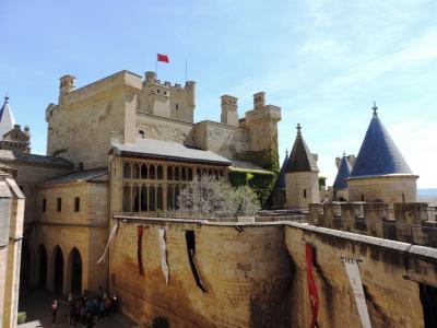 オリテ_Olite ナバラ国王の宮殿!フランスっぽさが漂うスペイン中世の城