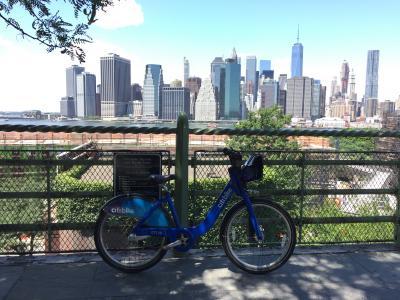 ニューヨーク CITYBIKEとランニングの旅