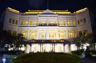 天国と地獄 in シンガポール Part 4 - ラッフルズホテル
