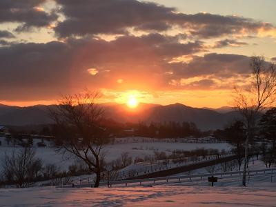 蒜山大山から見る初日の出