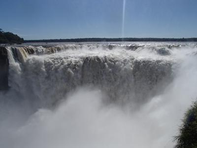 アルゼンチン縦断旅行その7-イグアスの滝(アルゼンチン側)